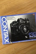 Leica Contax 139 Quartz Original Manual EX
