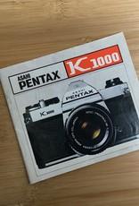 Pentax Pentax K1000 Original Manual