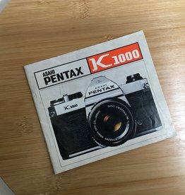 Pentax Pentax K1000 Original Manual