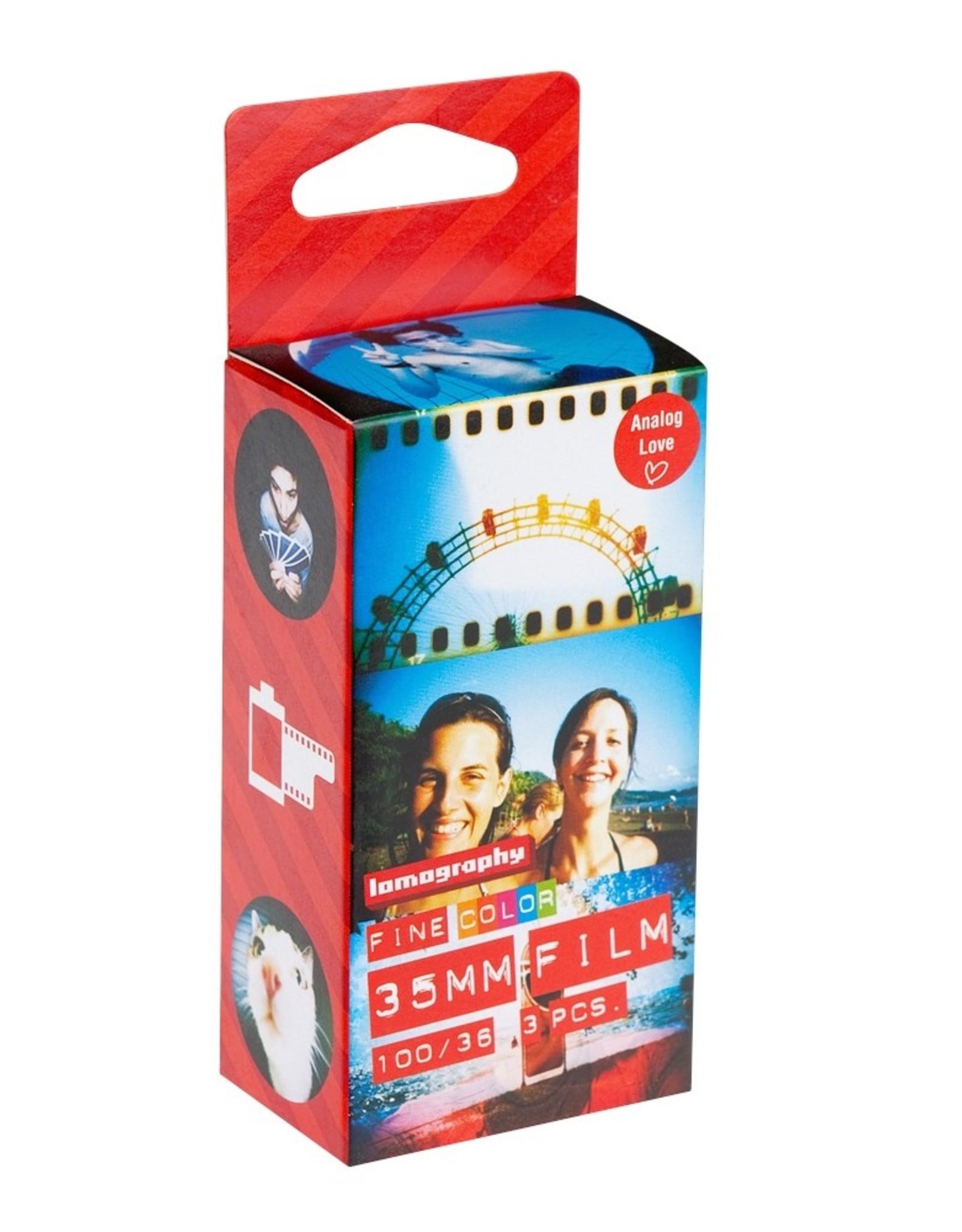 Lomography 35mm Color Negative Film - 100 ISO (3 Pack)