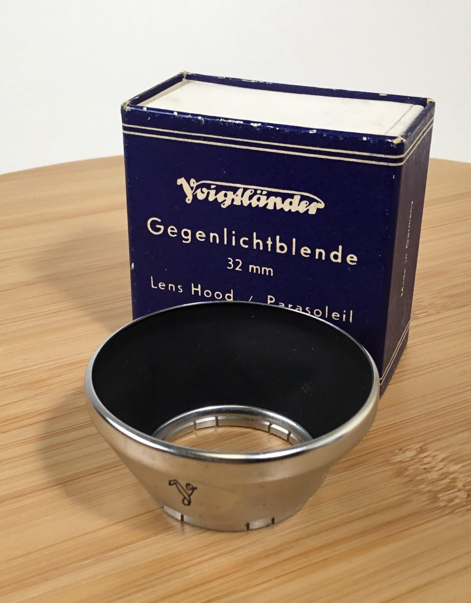 Voigtlander Voigtlander 32mm Lens hood 310/32 in box Used EX