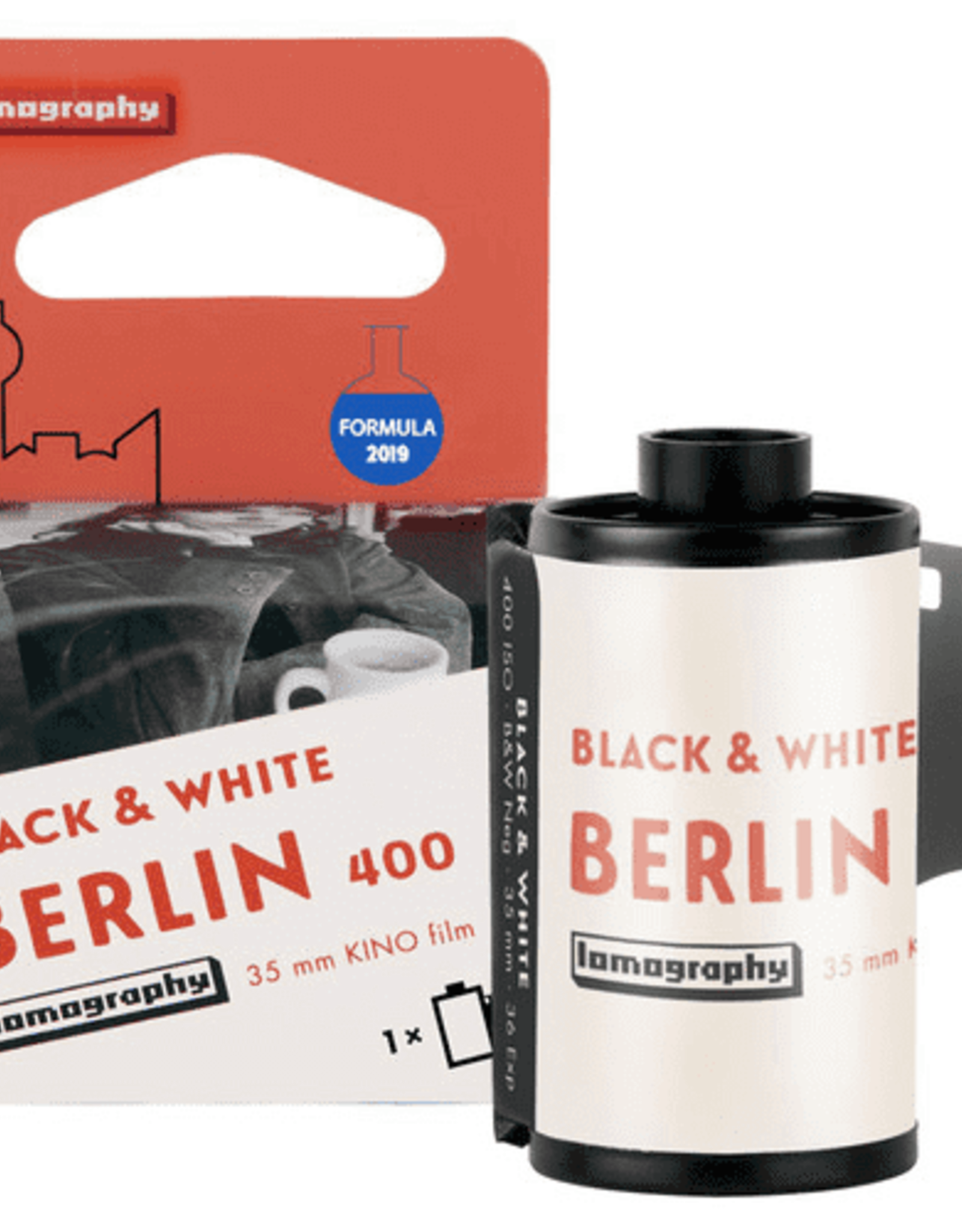 Lomography Berlin Kino B&W 35 mm ISO 400 2019 Edition - 1 Roll