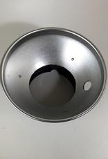 """Speedotron Speedotron 7"""" Reflector With Umbrella Hole Used EX"""