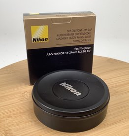 NIKON Nikon Slip On Lens Cap for 14-24mm f2.8 Used LN