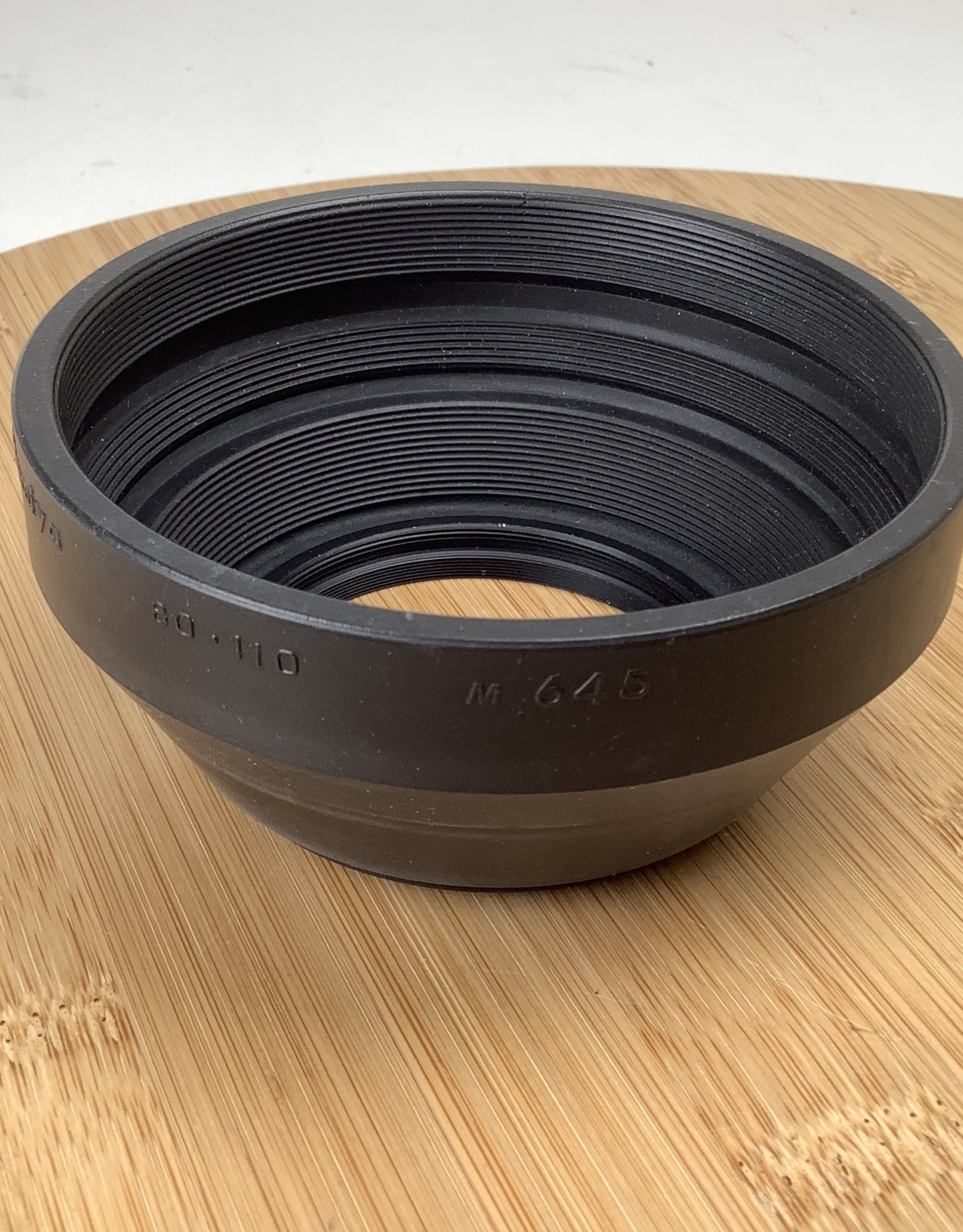 MAMIYA Mamiya M 645 Rubber Lens Hood for 80mm and 110mm  Used EX