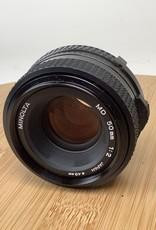 Minolta Minolta MD 50mm f2 Lens Used EX