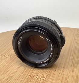 Minolta Minolta MD 50mm f2 Lens Used EX