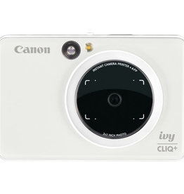 CANON Canon IVY CLIQ+ Instant Camera Printer (Pearl White) New