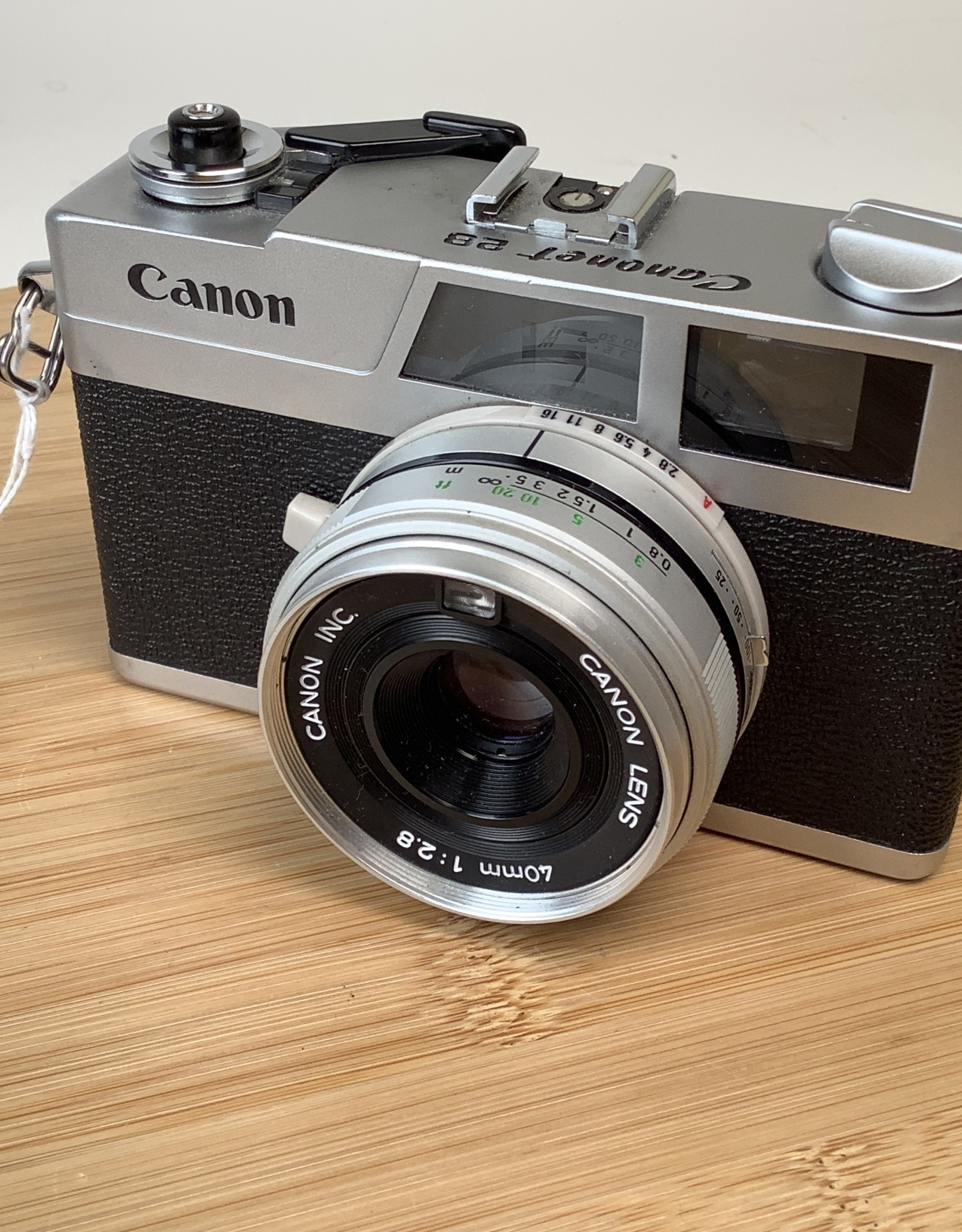 CANON Canon Canonet 28 Sold As Is For Parts Used