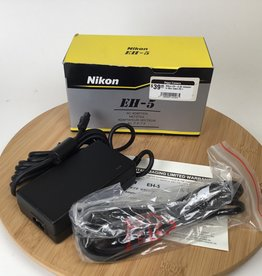 NIKON Nikon EH-5 AC Adapter in Box Used EX+