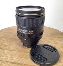 NIKON Nikon AF-S Nikkor 24-120mm f4 VR Lens No Hood Used EX