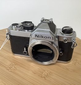 NIKON Nikon FM Chrome Body For Parts Sold AS IS Used