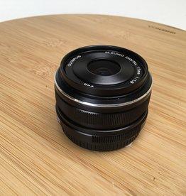 OLYMPUS Olympus MFT 17mm f1.8 Black Lens Used EX+
