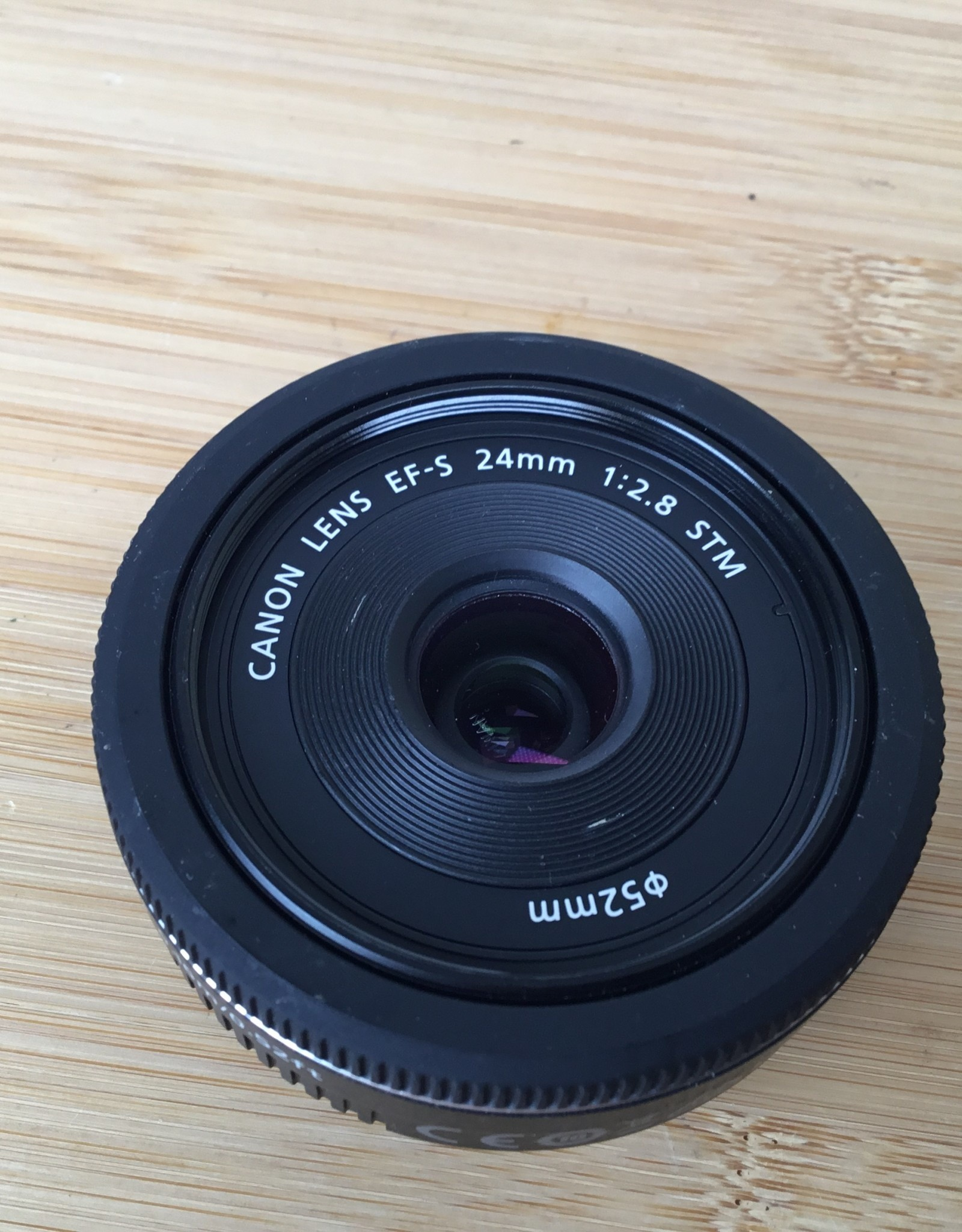 CANON Canon EF-S 24mm f2.8 Lens Used EX+