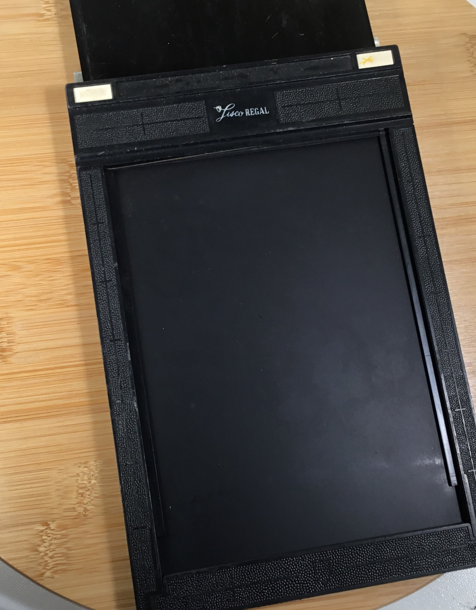 Lisco Regal Lisco Regal 5x7 Sheet Film Holder Used EX