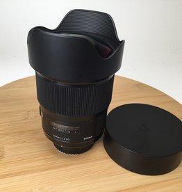 SIGMA Sigma 20mm f1.4 DG Art Lens for Nikon Used EX+