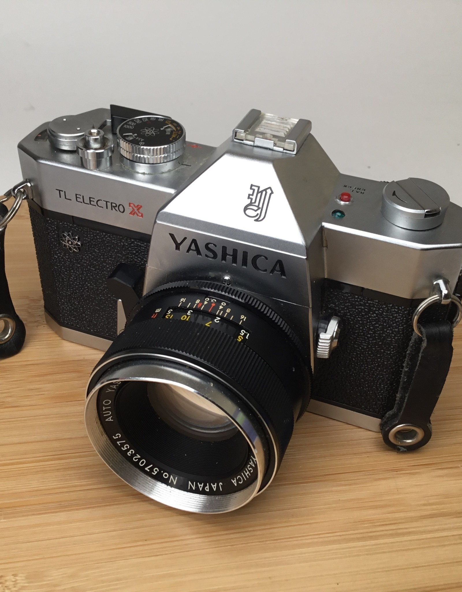 Yashica Yashica TL Electro X with 50mm f1.7 Lens No Meter Used