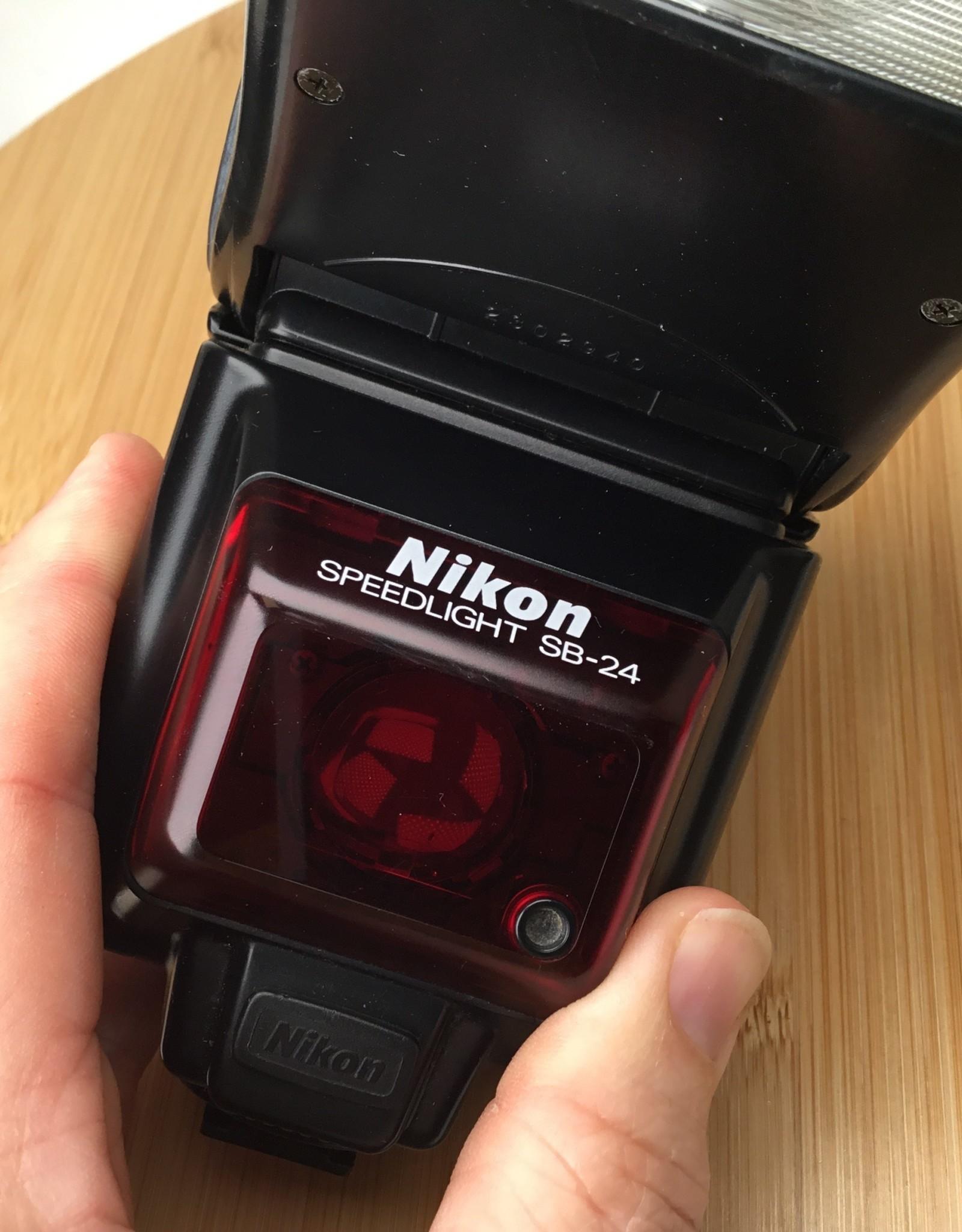 NIKON Nikon SB-24 Speedlight Flash Used EX