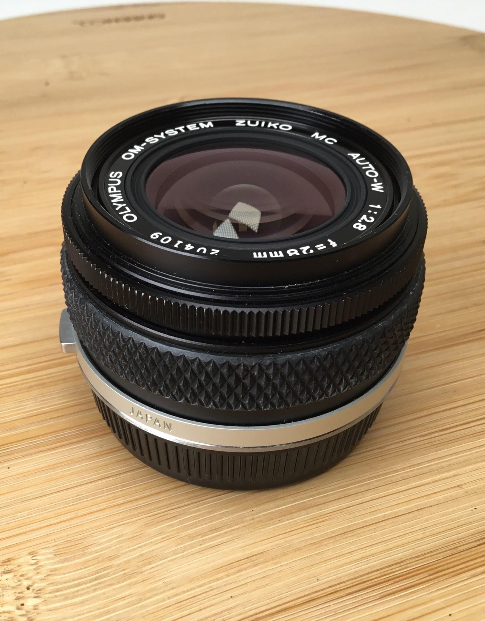 OLYMPUS Olympus OM 28mm f2.8 Zuiko MC Lens in Box EX