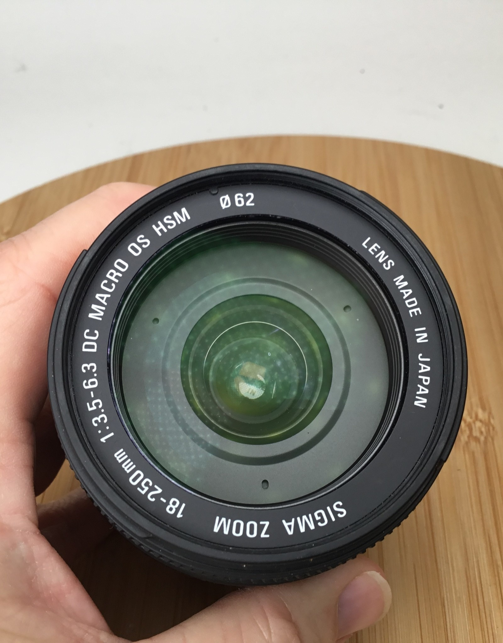 SIGMA Sigma DC 18-250mm f3.5-5.6 Macro HSM OS Lens for Canon Used EX