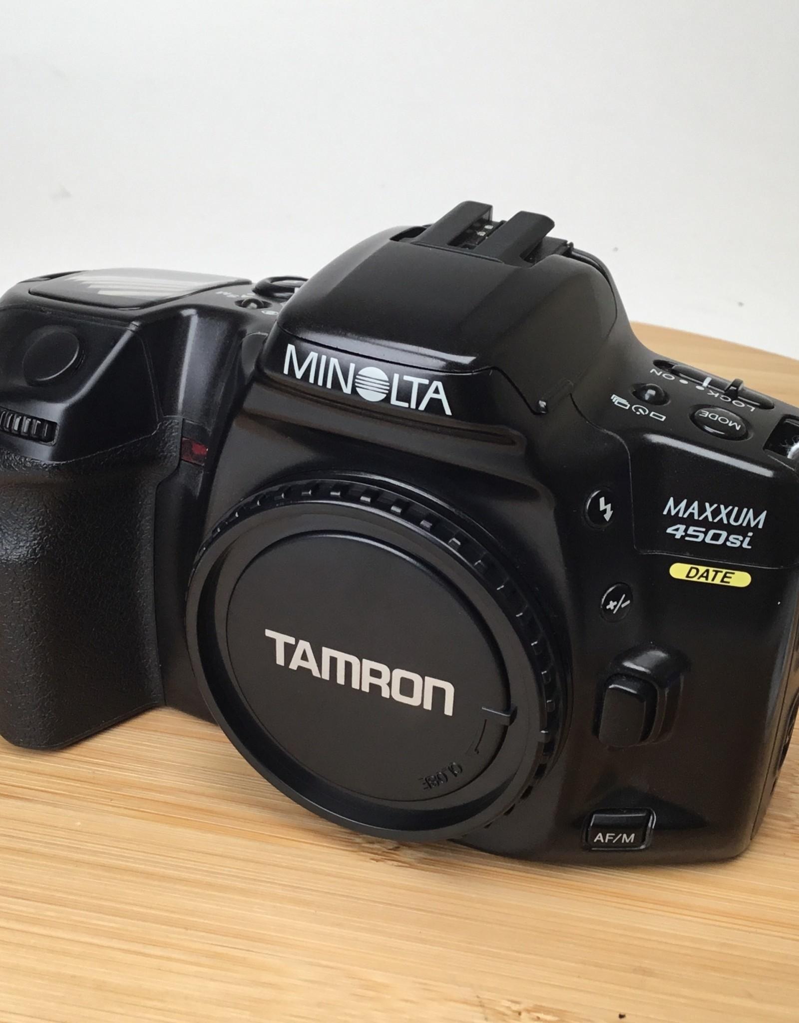 Minolta Minolta Maxxum 450si 35mm Film Camera Used EX