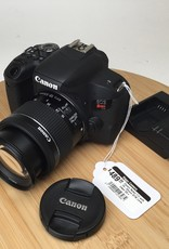 CANON Canon Rebel T7i with 18-55mm STM Lens Used EX+