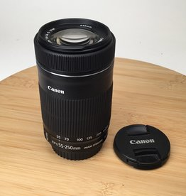 Canon EF-S 55-250mm f4-5.6 IS STM Used EX+