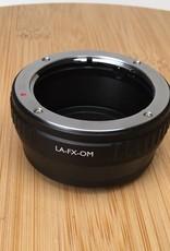 Vello LA-FX-OM Fuji X to Olympus OM Adapter Used EX