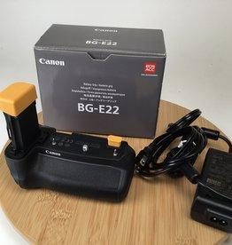 CANON Canon BG-E22 Grip in Box Used LN