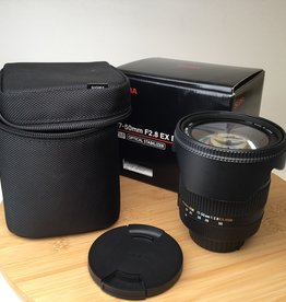 NIKON Sigma 17-50mm f2.8 EX DC OS HSM Lens in Box for Nikon Used EX+