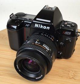 NIKON Nikon N8008 with AF Nikkor 35-70mm and MF-21 Used EX+