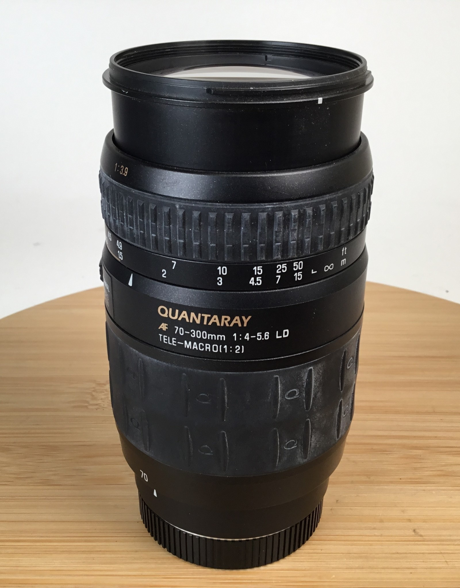 Quantaray 70-300mm f4-5.6 for Minolta Maxxum Used EX
