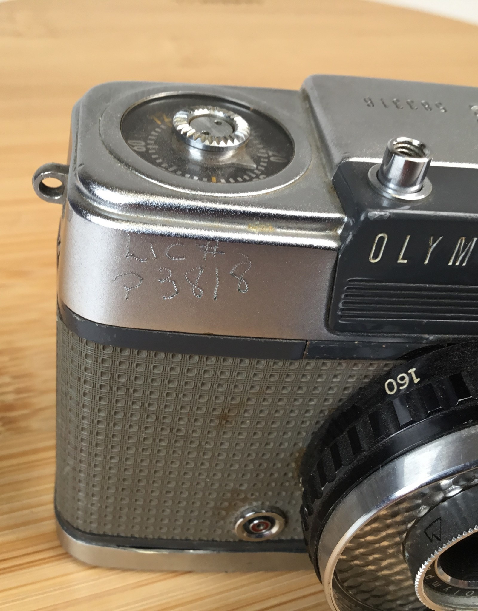 Olympus Pen-EE S Camera Sold AS IS for Parts Used