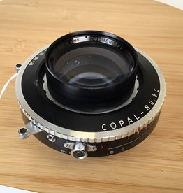 Yamasaki 300mm f6.3 Commercial Lens Mounted in Copal 3S Shutter Used EX