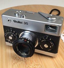 Rollei Rollei 35 Camera Made in Singapore Tessar 40mm f3.5 Used BGN