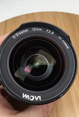 Laowa Zero-D D-Dreamer 12mm f2.8 for Canon In Box Used EX+