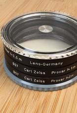 hasselblad Hasselblad Proxar Set B57 .5m, 1m, 2m Used EX+