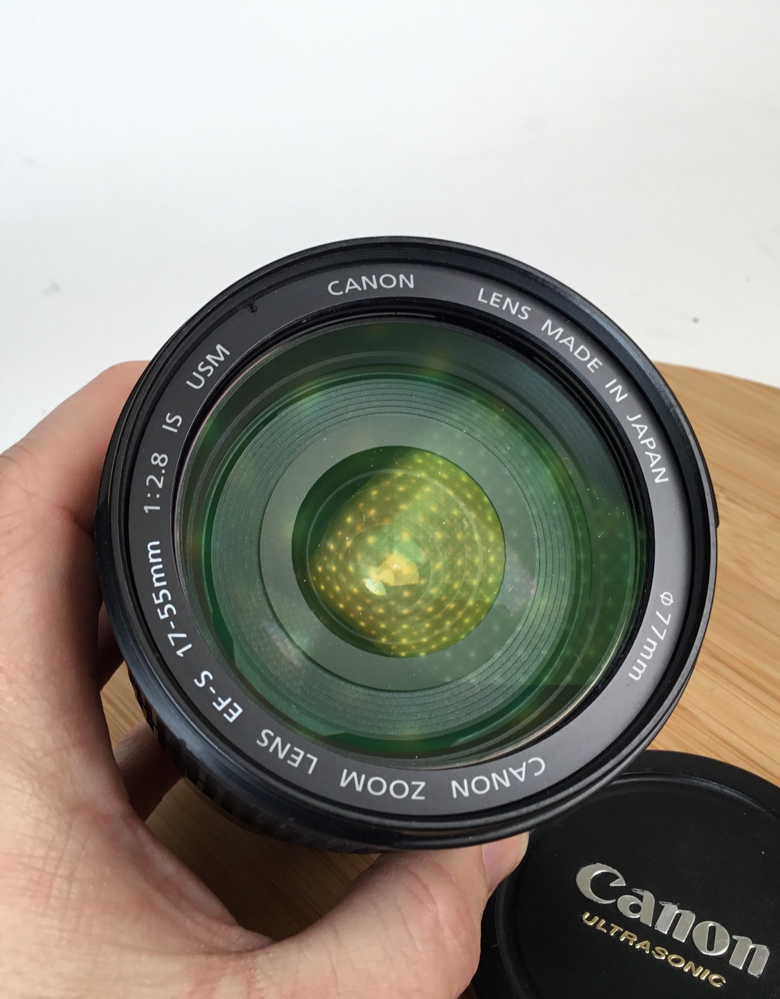 CANON Canon EF-S 17-55mm f2.8 Lens As Is Used