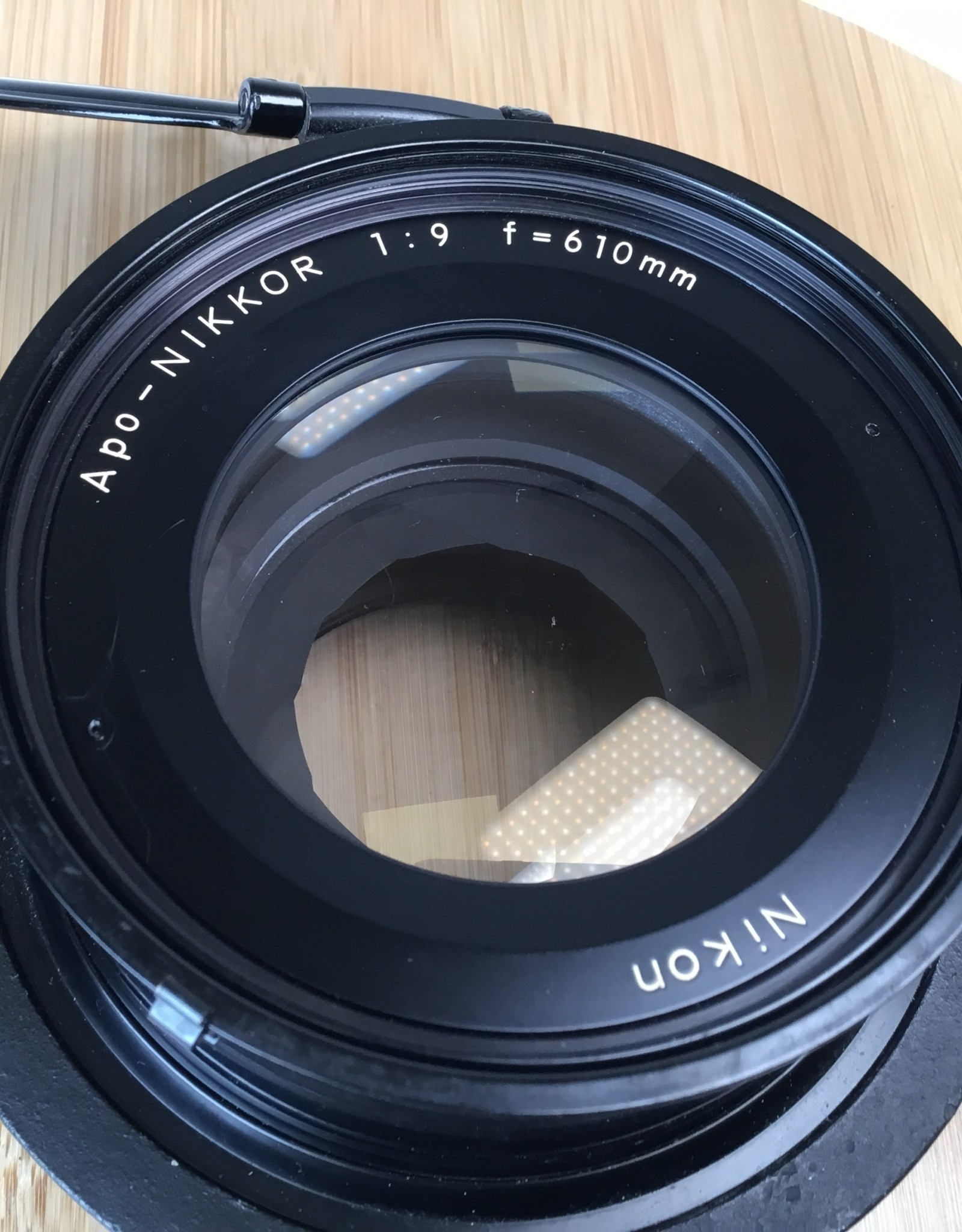 NIKON Nikon Apo-Nikkor 610mm f9 Lens with Mounting Ring used EX