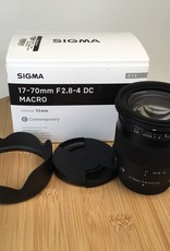SIGMA Sigma 17-70mm f2.8-4 Macro Lens in Box Used LN