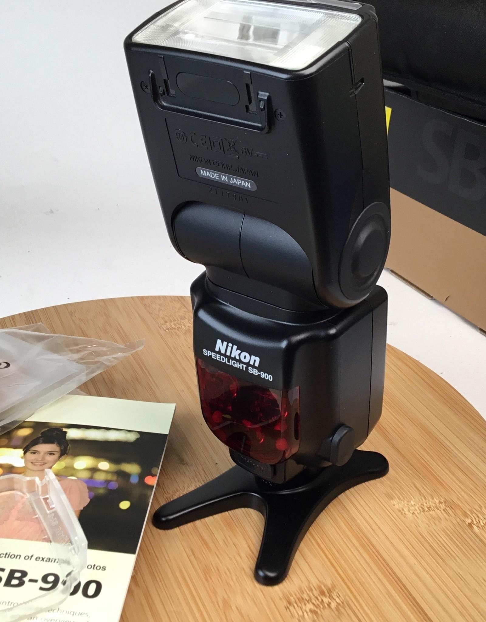 NIKON Nikon Speedlight SB-900 Flash in Box Used EX+