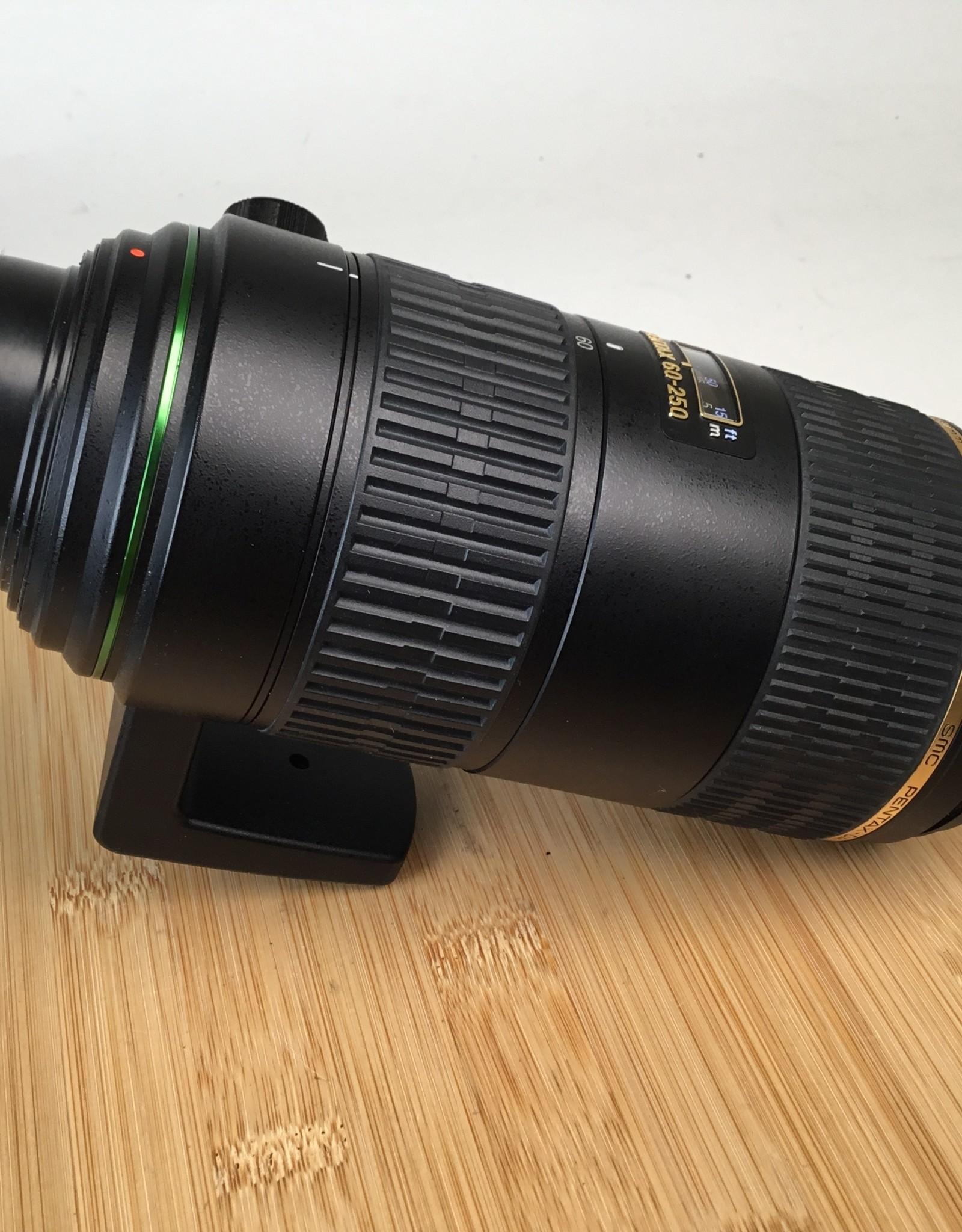 Pentax Pentax 60-250mm f4 DA AF SDM Lens Uses EX