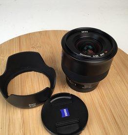 SONY Zeiss Batis 25mm f2 Lens for Sony FE Used EX