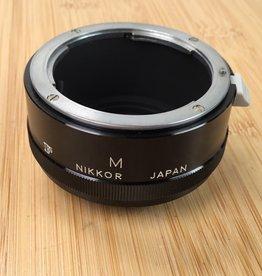 NIKON Nikon Nikkor F Extension Tube M Used EX