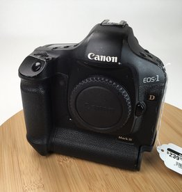 CANON Canon EOS 1D Mark III Camera Body No Charger Used BGN