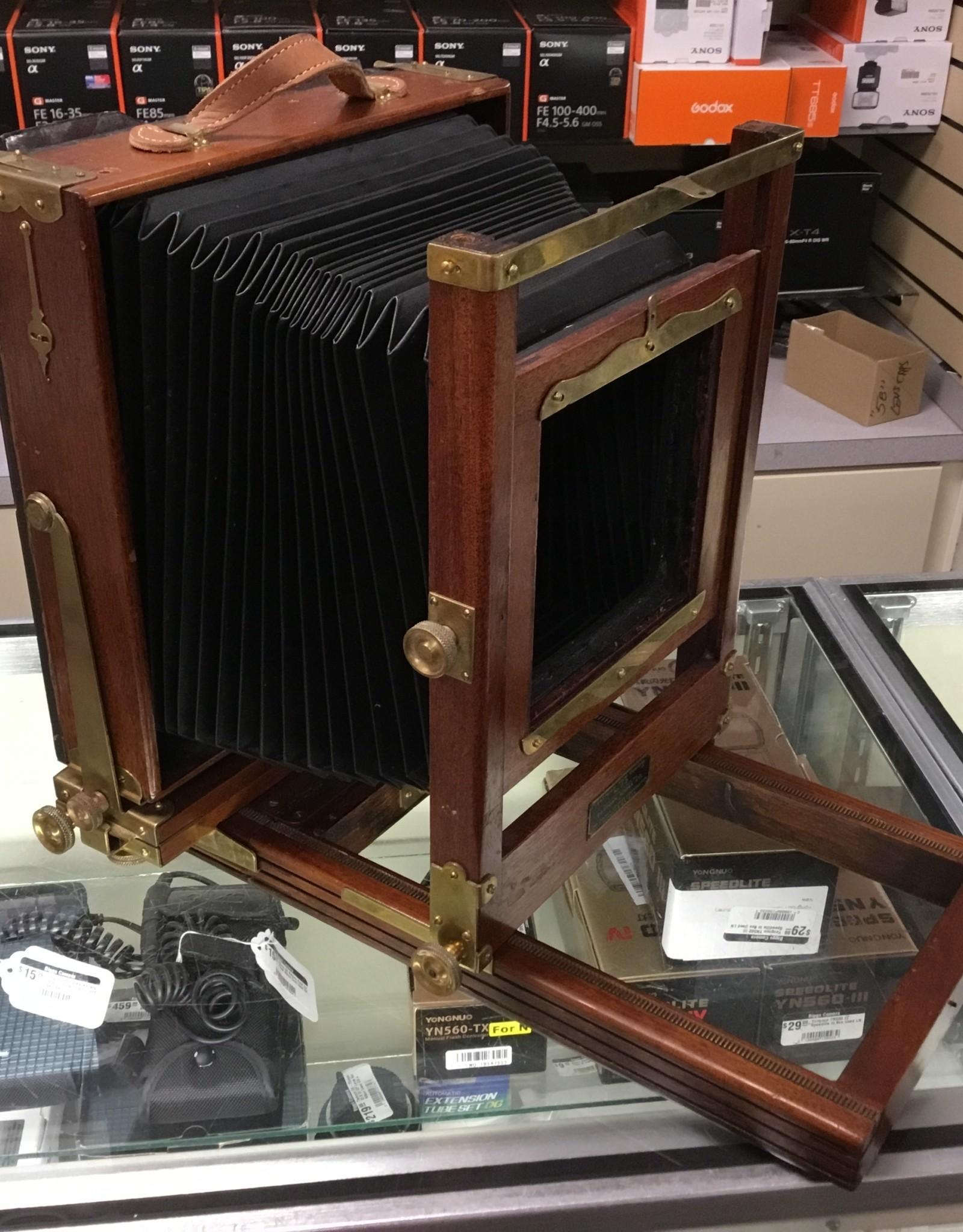 Kodak 2D Wood 8x10 Camera with Extension Rails Used EX