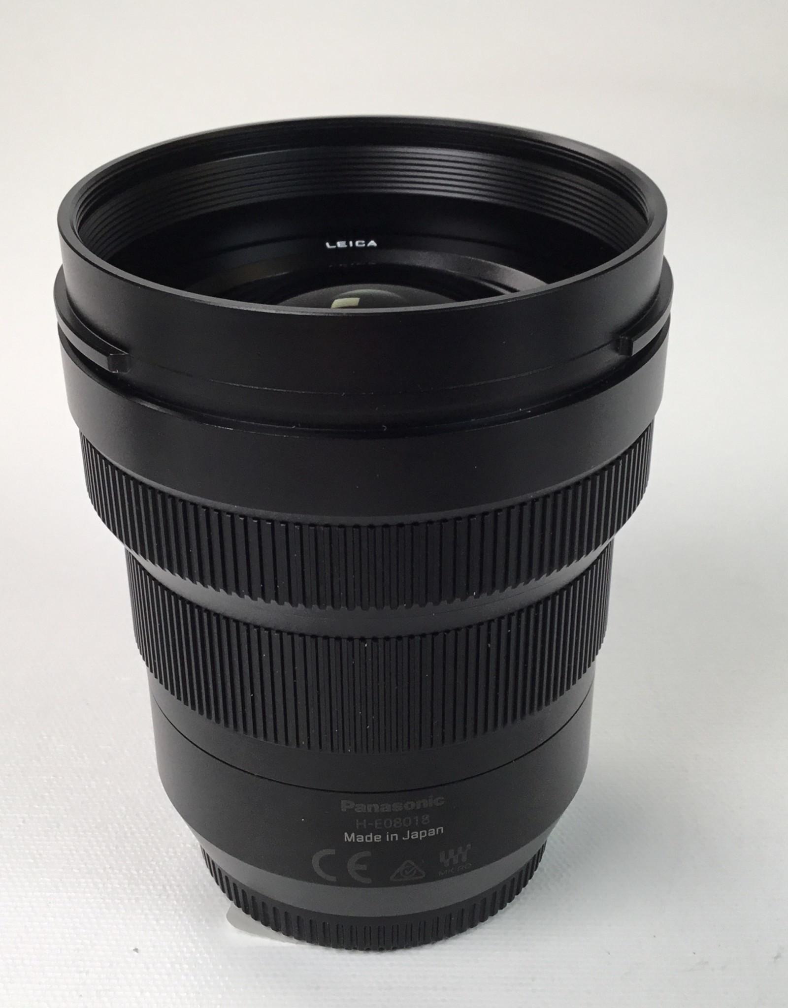 Leica Panasonic Lumix G Leica DG Vario-Elmait 8-18mm F/2.8-4 Aspherical ED Lens Used EX+