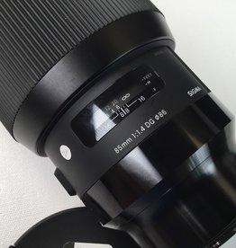 SIGMA Sigma 85mm f1.4 Art Lens for Panasonic L Mount Used EX+