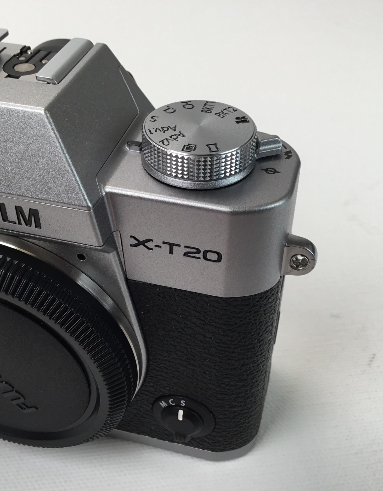 FUJI Fuji X-T20 Camera Body Silver Used LN