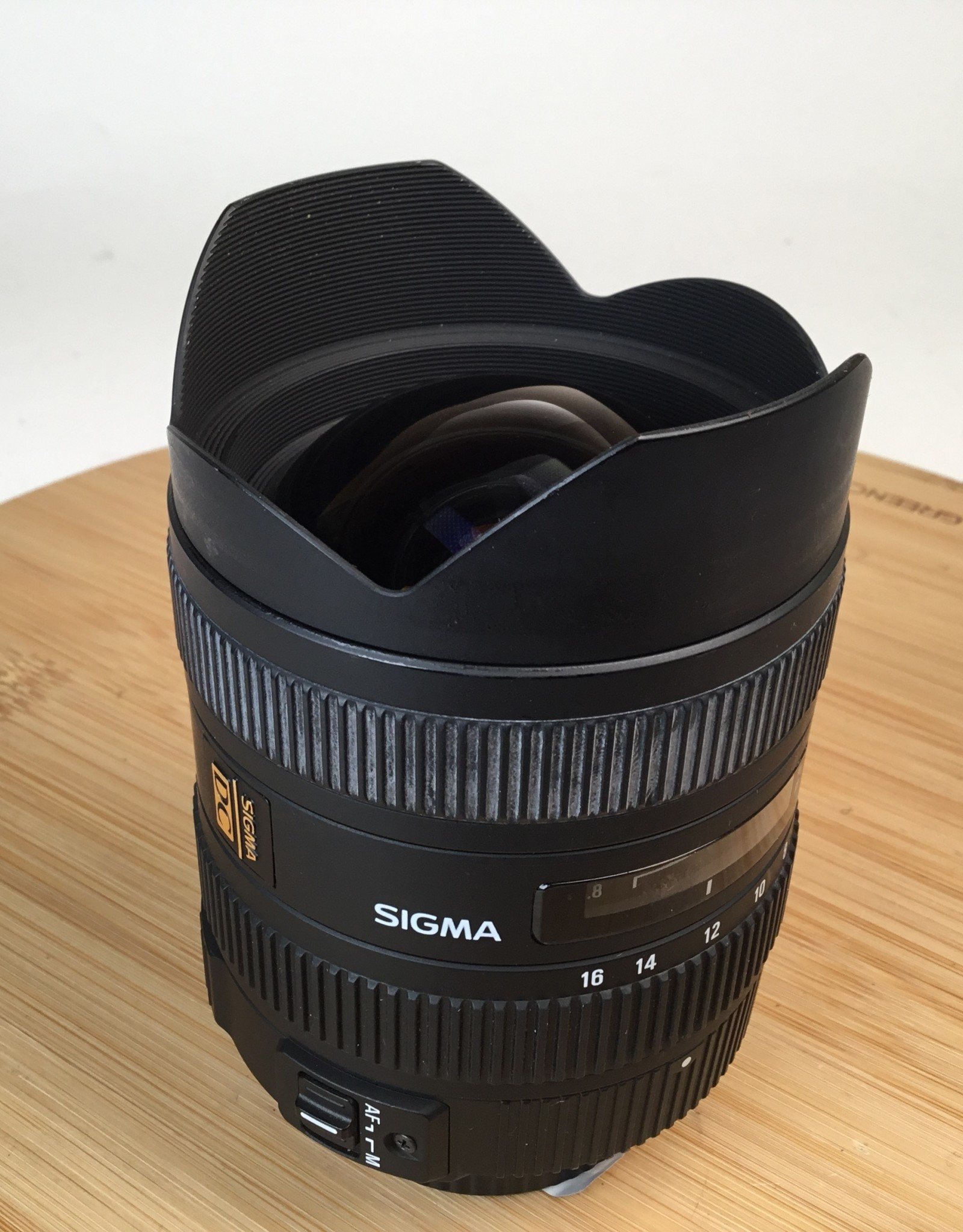 SIGMA Sigma 8-16mm f4.5-5.6 HSM for Pentax Used EX-
